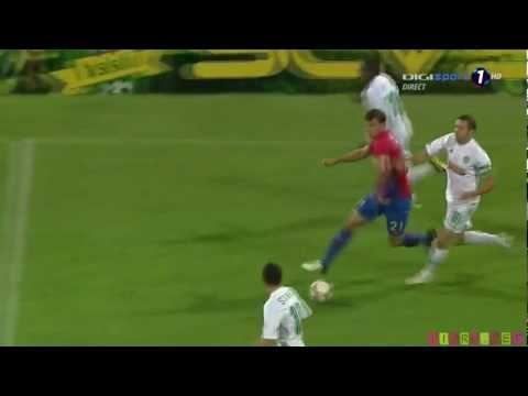 Gol Alexandru Chipciu dupa o Cursa Senzationala a lui Vlad Chiricheș  27.08.2012 vaslui 3- 1 STEAUA fullhd 1080p