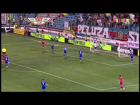1080p Fotbal Steaua 3 – 0 Ekranas calificata in grupele UEFA Europa League goluri rezumat highlights