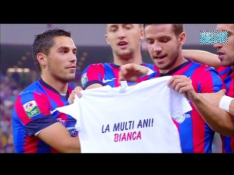 Video STEAUA 2 – 1 AKTOBE 6 august 2014 Calificata în playoff UEFA Champions League Liga Campionilor 1080p