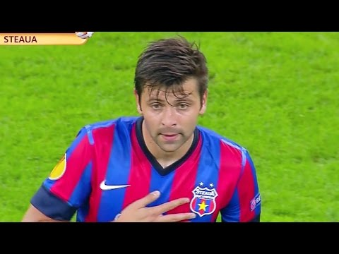 Video HD STEAUA 6 - 0 AALBORG REZUMAT TOATE GOLURILE 18 Septembrie 2014 1080p