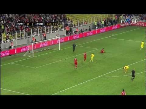 1080p Romania 1-0 Turcia Turkey Turkiye rezumat complet goluri Gheorghe Grozav 2012 highlights World Cup 2014