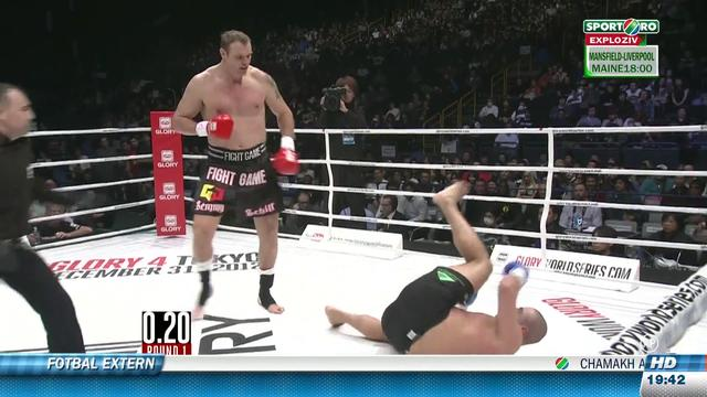 Video 1080p Semmy Schilt vs Gokhan Saki – K1 Full HD Local Kombat Tokyo 31.12.2012