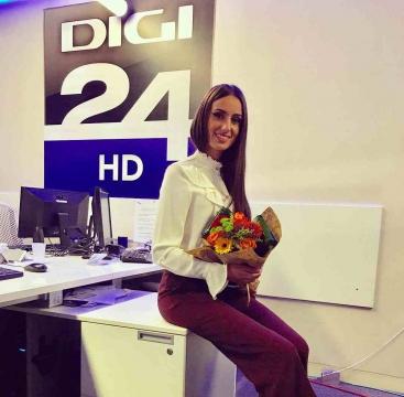 DIGI24 sau PITZI24 -  Andreea Stravoiu, concurenta BRAVO AI STIL, santierista transformata in jurnalista de DIGI24