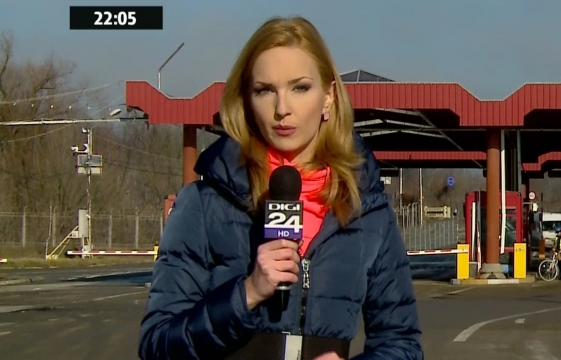 TEODORA TOMPEA - prezentatoare tv, reporter DIGI24 - poze, foto, video